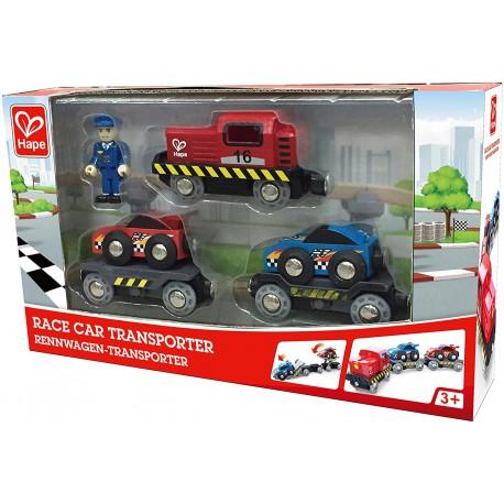 Race car transporter.