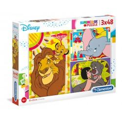 Disney. 3x48 pcs.