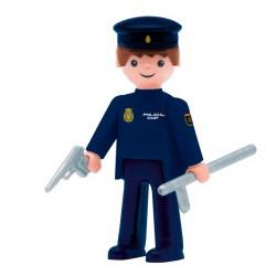 Figura policia nacional.