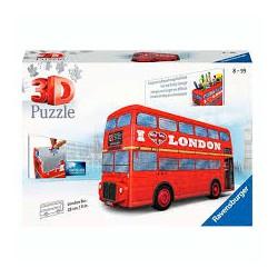 Autobús de Londres 3D.