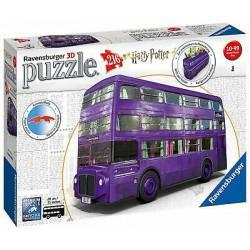 Autobús de Harry Potter 3D.