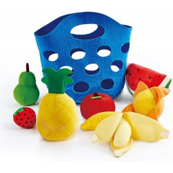 Cesta de fruta.