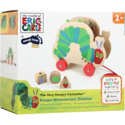 Very hungry caterpillar. Pull along.