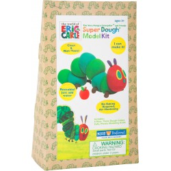 Very hungry caterpillar. Super dough.
