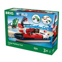 Cargo harbour set.