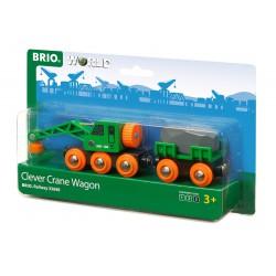 Clever crane wagon.