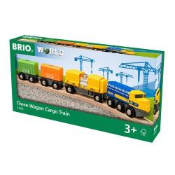 Three-Wagon Cargo Train.