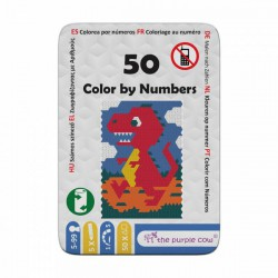 50 color by numbers.