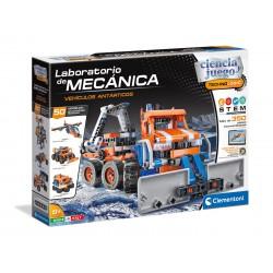 Laboratorio de mecánica. Antartics vehicles.
