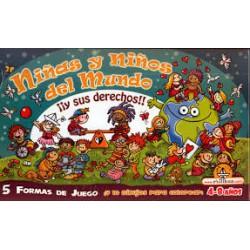Niñas y niños del mundo y sus derechos.