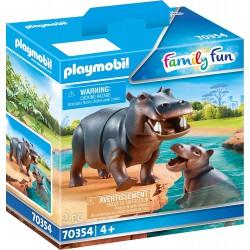 Hipopótamo con Bebé.