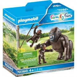 Gorila con Bebé.
