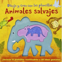Draw and create with Wild Animals templates.