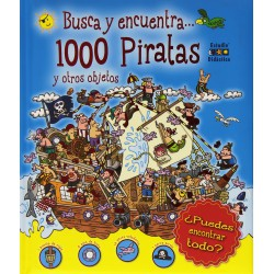 Search and find ... 1000 Pirates and other objects.