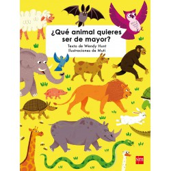 What animal do you want to be when you grow up?.