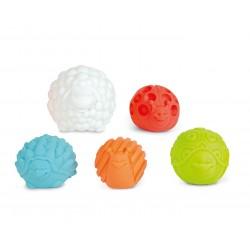 Animal sensorial balls.