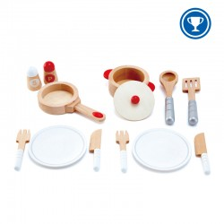 Cook and serve set.