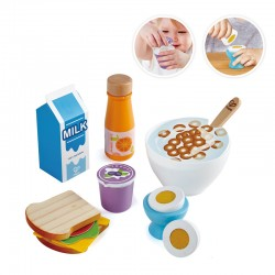 Delicious breakfast playset.
