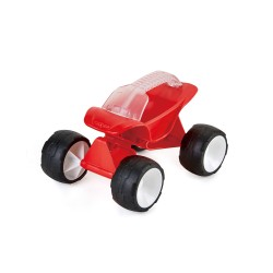 Dune buggy, red.