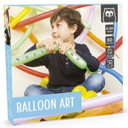 El arte de los globos.