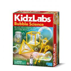 La ciencia de las burbujas.