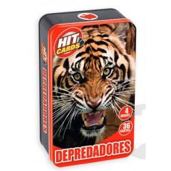 Hit Cards. Depredadores.