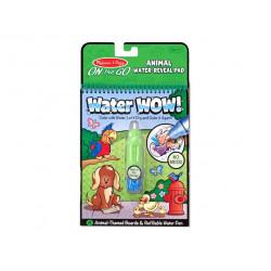 Set bolígrafo de agua con bloc: Vehículos.