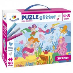 Gliter puzle.
