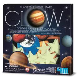 Planets and super nova.