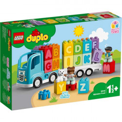 Alphabet truck.