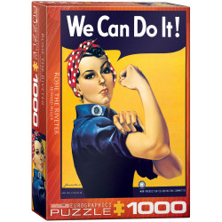 Rosie the Riveter. 1000 pcs.