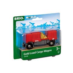 Vagón de mercancías con carga de oro.