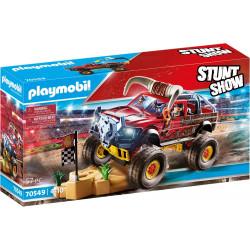 Stunt Show truck horned.
