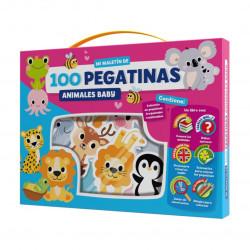 100 pegatinas. Animales baby.